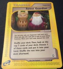 Pokemon Cards - Forest Guardian #123/147 Aquapolis [NM+] (2003)