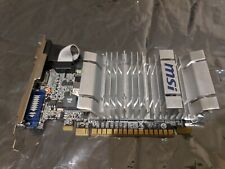 MSI NVIDIA GeForce 8400 GS (N8400GS-MD1GD3H/LP) 1GB DDR3 PCI Express x16 - Used