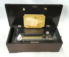 Vintage Jacot's 1816 Swiss Made Cylinder Type Antique Crank Music Box