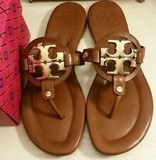 Tory Burch Miller 2 Vachetta Brown Sandals Size 8