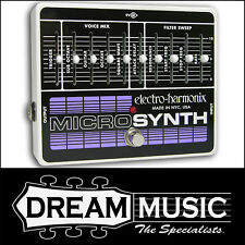 Electro Harmonix EHX Micro Synth Guitar Synthesizer Effect Pedal RRP$729