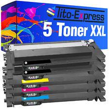 5 Toner XXL ProSerie für Samsung Xpress C 430 C 430 W C 480 C 480 FN C 480 FW