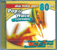 Pop & Wave 80 Edition *12 (2004) 2CD NUOVO Shakin Stevens Oh Julie. Toto. Africa