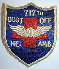 Patch - HELICOPTER COMBAT EVAC - US ARMY 77th Medical Det - Vietnam War - 4312