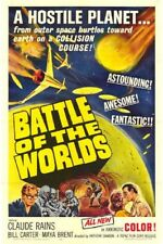 BATTLE OF THE WORLDS 1961 Sci-fi Movie Film PC iPhone INSTANT WATCH