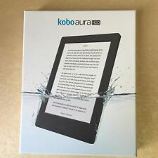 Kobo Aura H20 Waterproof E-Reader 4 GB 6.8in  WIFI BLACK