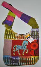 Rising International Handcraft Unicorn Hippie Boho Bag Made in Nepal NWT