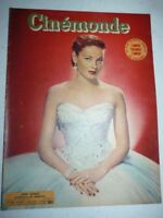Lot N°83 de 8 magazines revues CINEMONDE année 1952