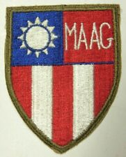 MAAG Formosa (Taiwan) Shoulder Patch - Minty