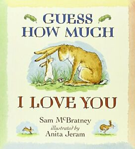 Guess How Much I Love You: 1 by Sam McBratney Paperback Book The Cheap Fast Free