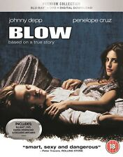 BLU-RAY BLOW ( JOHNNY DEPP ) PREMIUM EXCLUSIVE EDITION BRAND NEW SEALED UK STOCK