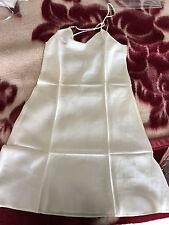 Women 100% Silk Satin Sleepwear Nightgown Dress Babydoll Sleeveless Chemise