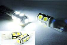 White High Power 9 SMD LED T10 For CHEVROLET Rear Side Marker Light 168 194 Bulb
