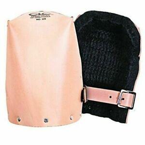 Custom Leathercraft - 309 Leather Heavy Duty Kneepads - Tan
