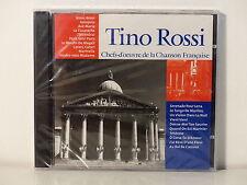 CD ALBUM Chefs d oeuvre de la chanson francaise TINO ROSSI CF 015 NEUF