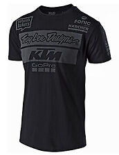T-Shirt Troy Lee Designs TLD Ktm Team Tee colore nero 70164422 misura L