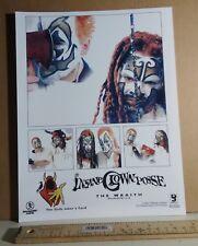 ICP Insane Clown Posse 2002 8x10 PROMO PUBLICITY PHOTO The Wraith/no-cd/lp MINT