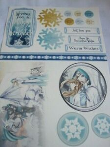 **Craft Room Clear Out**  Papercraft Pack - Mystical Christmas Theme
