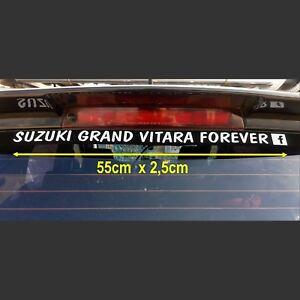 SUZUKI GRAND VITARA FOREVER FACEBOOK VINYL DECAL 55cm x 2,5cm