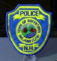 Patch Retired: Town of Goffstown, N.H. Police Patch