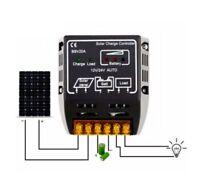 New US 20A 12V/24V Solar Panel Charge Controller Battery Regulator Safe Protecti