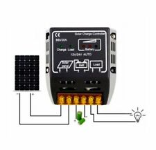 New US 20A 12V/24V Solar Panel Charge Controller Battery Regulator Safe Protecti