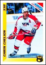 FINNISH SEMIC KIEKKO HOCKEY 1994 CHRIS CHELIOS NHL RED WINGS DREAM TEAM #338
