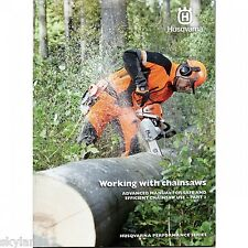 HUSQVARNA WORKING WITH CHAINSAWS MANUAL - PART 2