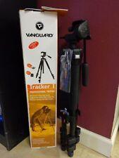 Vanguard Tracker 1 Professional Aluminum Camera Tripod 2 Quick Shoes & Strap NEW