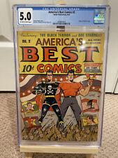 Americas Best Comics #2 CGC 5.0