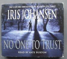 No One to Trust Iris Johansen 2002 CD Abridged