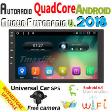 """GPS Android 6.0 Car Multimedia Stereo 7"""" Smart 4G WiFi Double 2DIN Radio Player"""