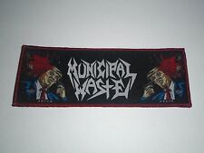MUNICIPAL WASTE WOVEN PATCH