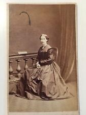 Victorian Carte De Visite CDV Photo - Walker - Lincoln - Lady