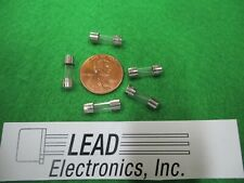 QTY5 2-AMP  2AG 250V FUSE  FAST ACTING MINIATURE 4.5MM X 15MM 2A GLASS BODY