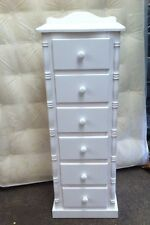 PINE FURNITURE ASHBOURNE SPECIAL LIMITED OFFER 6 DRAWER SLIM CHEST NO FLAT PACK