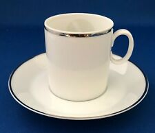 Eastern Airlines Demitasse Cup & Saucer Platinum Line by Rosenthal