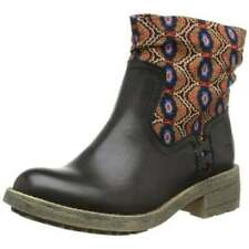 Ladies Anne Michelle Green PU Ankle Boots Great Sale Price!! F50006