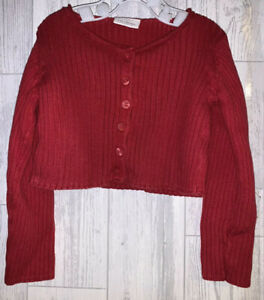 Girls Age 12-18 Months - Next Red Cardigan