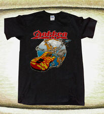 Vintage Dokken 1986 Under Lock and Key Tour Concert T-Shirt Black