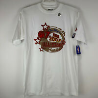 New NBA All Star Game 2007 XL X-Large T Shirt Las Vegas Basketball UNK Jeweled