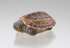 Kaiyodo Japanese Pond turtle PVC mini figurine figure with pouch