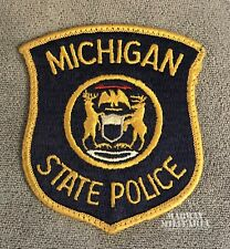 Early, MICHIGAN STATE POLICE Patch (22265)