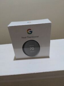 NEW! SEALED! Google NEST Programmable Thermostat G4CVZ Charcoal Free Shipping