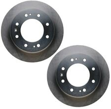 Pair Set 2 Front Disc Brake Rotors ACDelco GM OE For GMC Sierra 3500 HD 4WD SRW