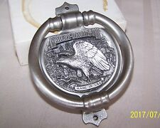 HARLEY DAVIDSON AMERICAN EAGLE 1988 PEWTER DOOR KNOCKER NEW COLLECTABLE