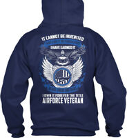 Stylish For Air Force Veteran - It Cannot Be Inherited Gildan Hoodie Sweatshirt