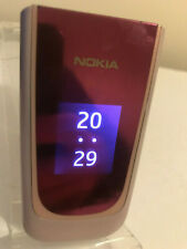 Nokia 7020 - Pink & Silver (Unlocked) Mobile Phone Flip Fold