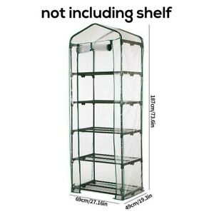 Weatherproof 4-Tier Greenhouse,Flat And Gable Tomato Greenhouse For Plants