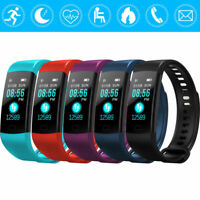 Fitness Smart Watch Activity Heart Rate Tracker WomenMen Kid For Android iOS